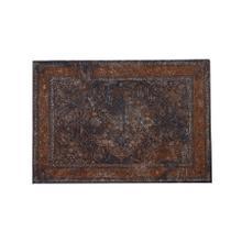 6834783 - Rug 230x160 cm BALAD dark brown