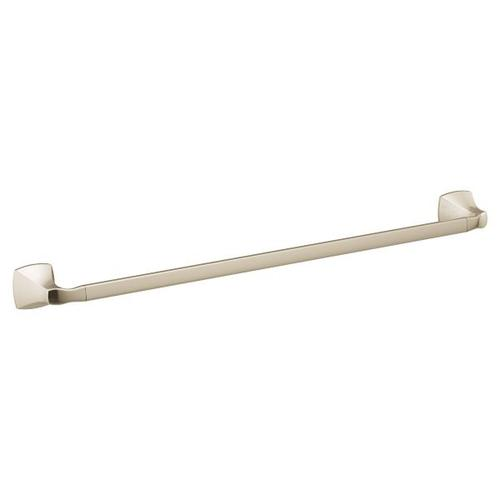"Voss polished nickel 24"" towel bar"