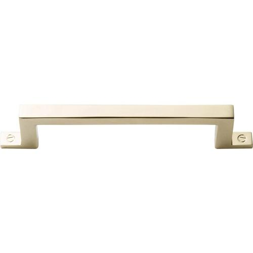 Campaign Bar Pull 3 3/4 Inch (c-c) - Polished Brass