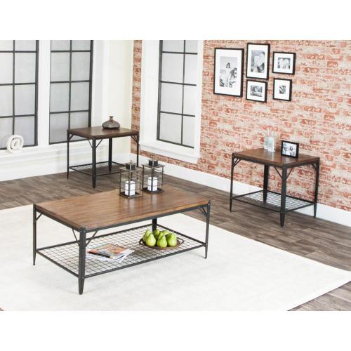 Product Image - W2770-90  Valee-rustic Oak W/shelf 3pk