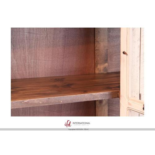 "Artisan Home Furniture - 50"" Console w/4 glass doors"