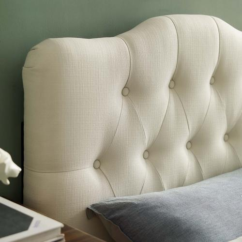 Modway - Annabel Twin Upholstered Fabric Headboard in Ivory