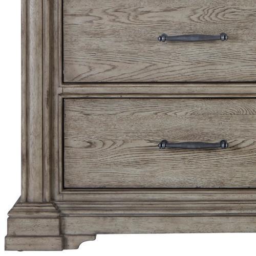 Pulaski Furniture - Madison Ridge 14 Drawer Master Chest in Heritage Taupe