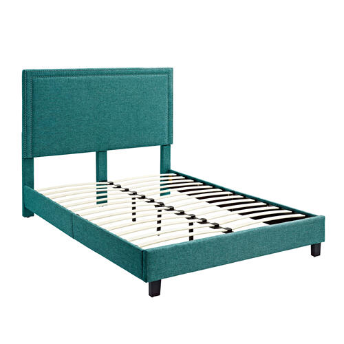 Erica Upholstered Full Platform Bed