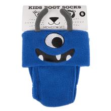 See Details - Kids' Small Monster Fleece Boot Socks. (1 pair)
