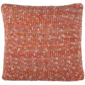 Darling Knit Pillow - Orange Combo