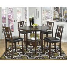 DRM Counter Table Set (5/CN) Logan - Brown Collection Ashley at Aztec Distribution Center Houston Texas