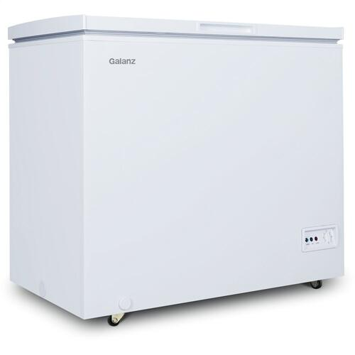 Galanz 7.0 Cu Ft Manual Defrost Chest Freezer in White