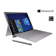 """See Details - Galaxy Book2 12"""", 128GB, Silver (AT&T), S Pen and Keyboard included"""