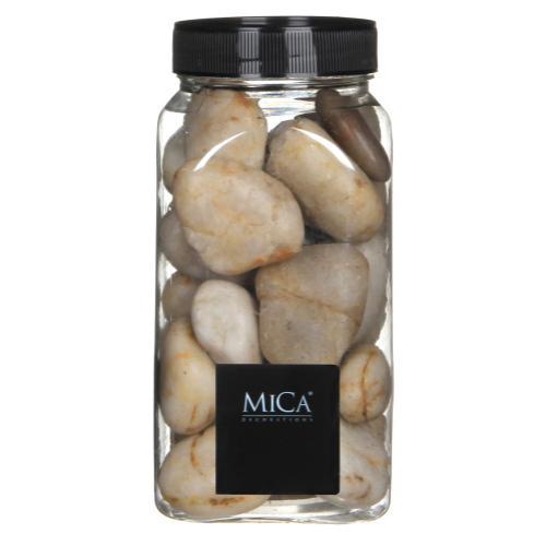 Terrarium River Stone Mix Cream (min.12pcs)