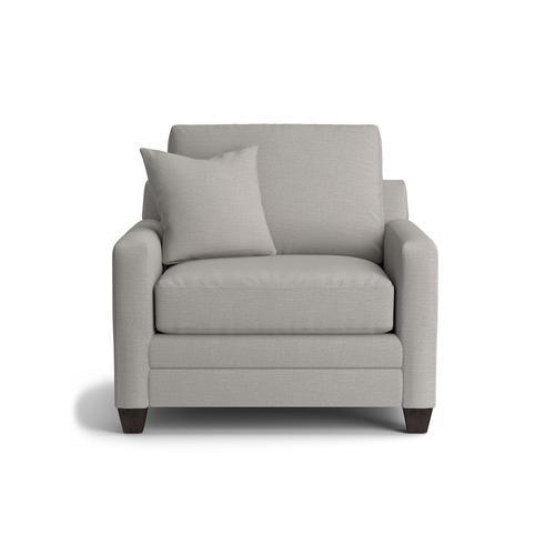Carolina Thin Track Arm Chair and a Half