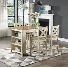 Century Bar Height 5 Piece Dining Set