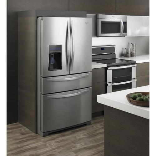 36-inch Wide 4-Door Refrigerator with More Flexible Storage - 26 cu. ft.