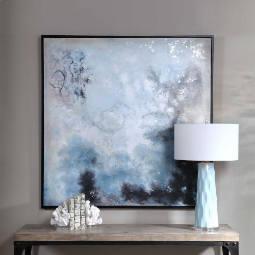 Seaside Storm Hand Painted Canvas