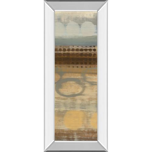 """Movement Panel Il"" By Jeni Lee Mirror Framed Print Wall Art"