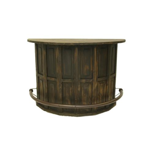L.M.T. Rustic and Western Imports - Curved Bar Medio Finish