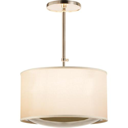 Visual Comfort BBL5025SS-S Barbara Barry Reflection 4 Light 24 inch Soft Silver Hanging Shade Ceiling Light