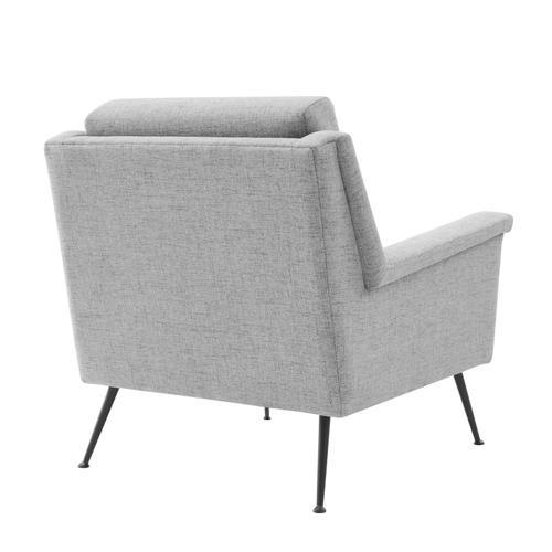 Modway - Chesapeake Fabric Armchair in Black Gray