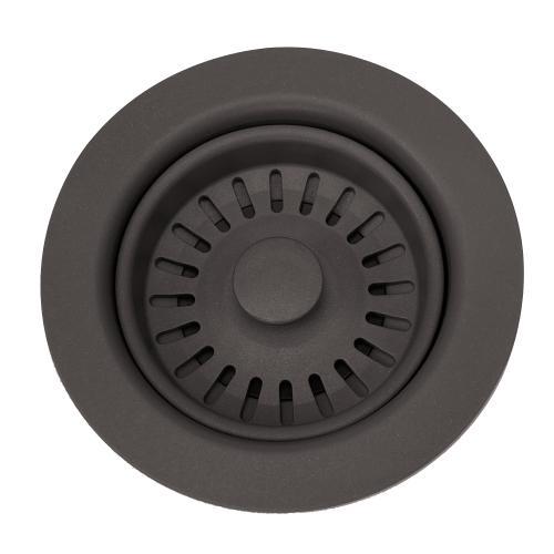 Nantucket Sinks - Brown Basket Strainer Kitchen Drain -For Granite Composite Sinks