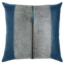 Tanner Pillow, BLUE, 22X22