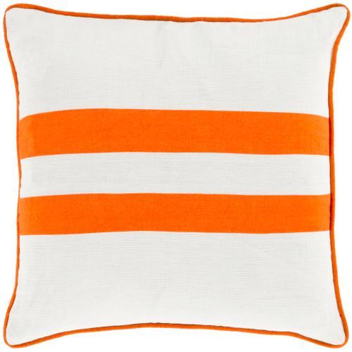 """Surya - Linen Stripe LS-004 20""""H x 20""""W"""