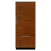 "Jenn-Air® 36"" Fully Integrated Built-In Bottom-Freezer Refrigerator (Right-Hand Door Swing)"