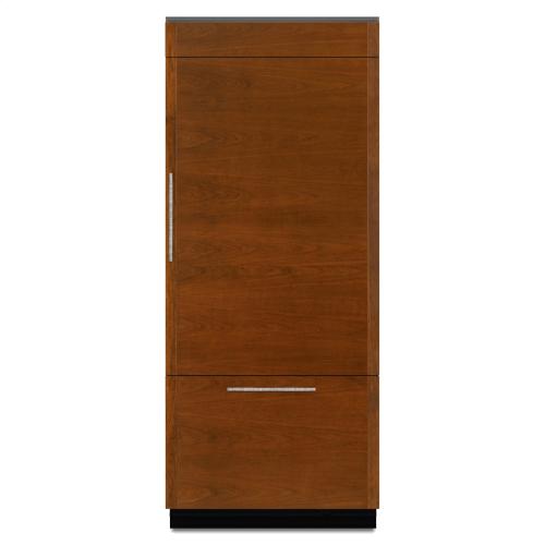 """Jenn-Air® 36"""" Fully Integrated Built-In Bottom-Freezer Refrigerator (Right-Hand Door Swing)"""