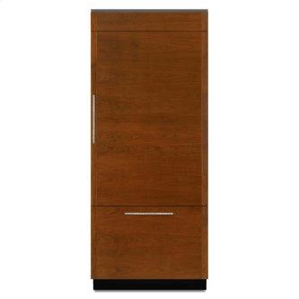 """Jenn-Air™ 36"""" Fully Integrated Built-In Bottom-Freezer Refrigerator (Right-Hand Door Swing)"""