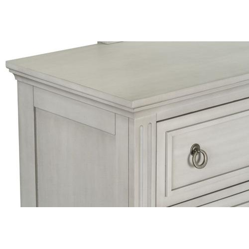 Sarah Youth 6-Drawer Dresser, White