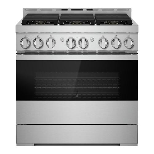 "36"" NOIR™ Gas Professional-Style Range"