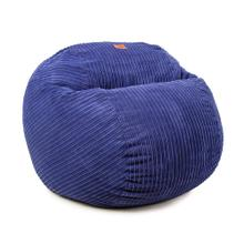 View Product - Queen Chair - Terry Corduroy - Grey