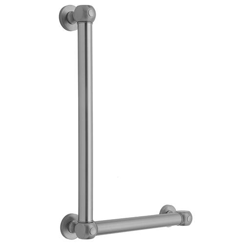 Satin Chrome - G70 24H x 12W 90° Right Hand Grab Bar