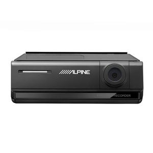 Alpine - Premium 1080p HD Night Vision Dash Camera Bundle (Front + Rear) with Built-In Drive Assist