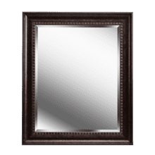 Amiens - Beveled Mirror with Bronze Finish Frame