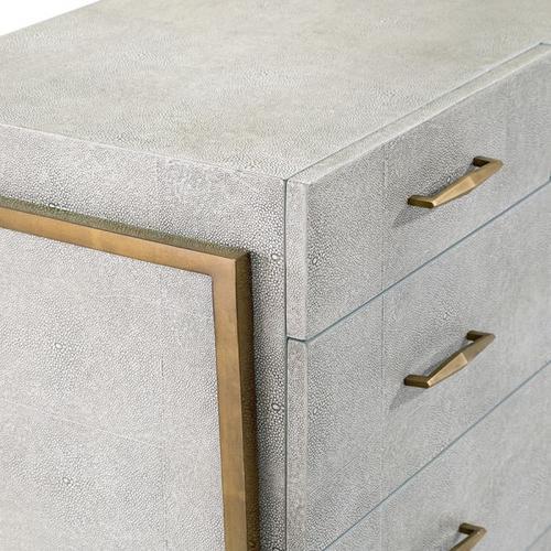 Morand 5 Drawer Chest - Grey