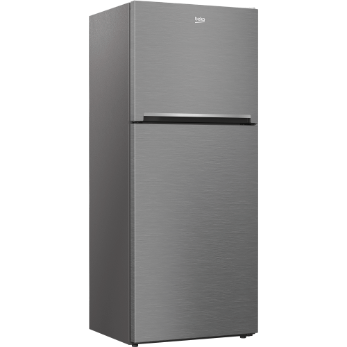 "28"" Freezer Top Stainless Steel Refrigerator with Auto Ice Maker and Everfresh+"