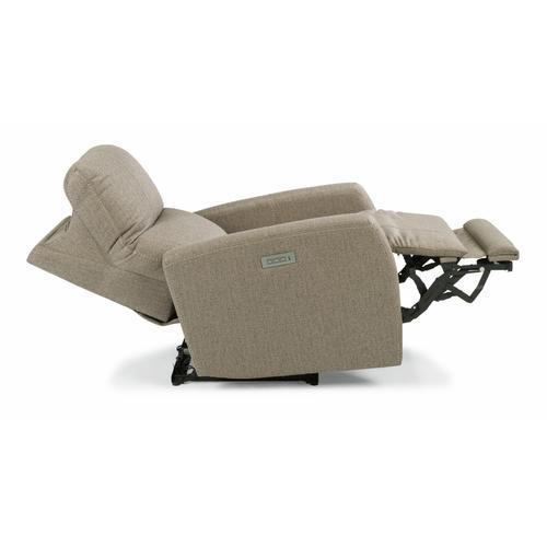 Flexsteel - Sadie Power Recliner with Power Headrest and Lumbar