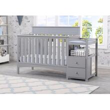 Presley Convertible Crib N Changer - Grey (026)