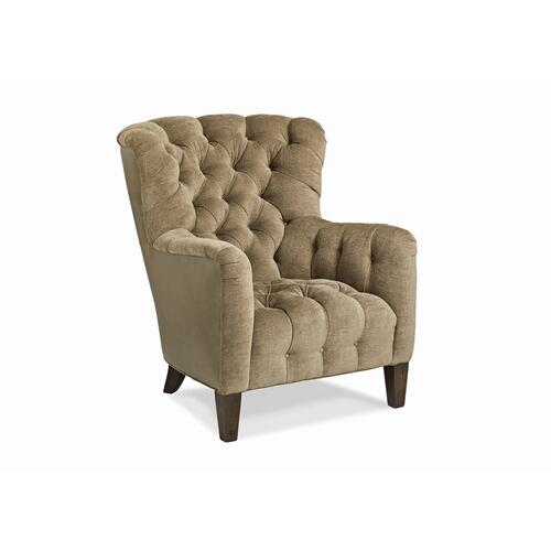 Sumptuous Tufted Seat Chair