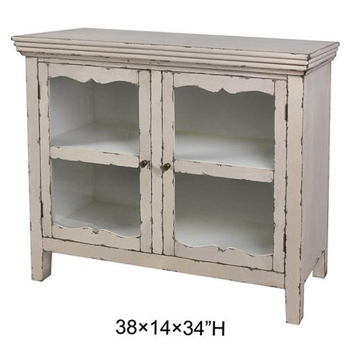 """Product Image - 38X14X34"""" WOOD CABINET MDF, 1 PC/ 14.43'"""