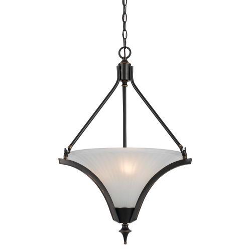 Cal Lighting & Accessories - 60W X 3 Rockwood Pendant Fixture