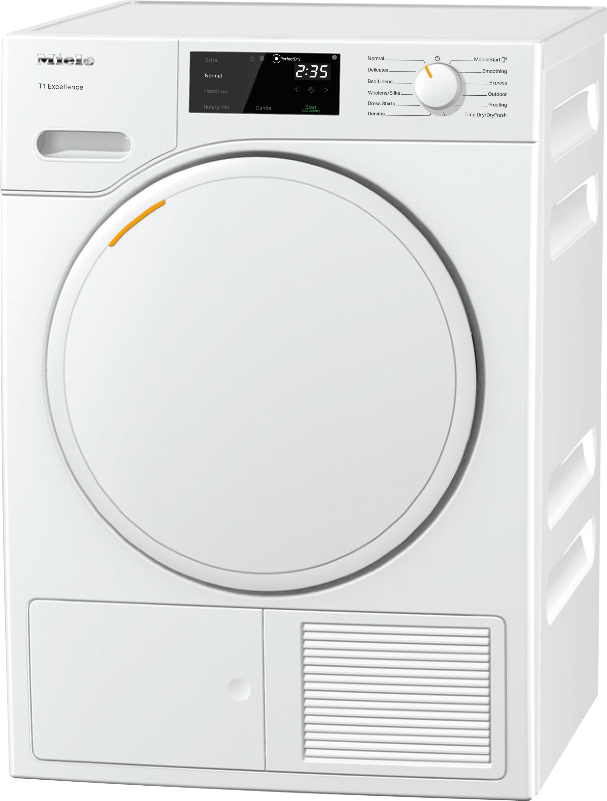 MieleTxd160wp - T1 Heat-Pump Tumble Dryer With Miele@home And Fragrancedos For Laundry That Smells Great.