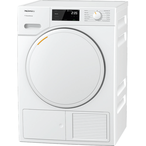 Miele - TXD 160 WP - T1 Heat-pump tumble dryer with Miele@home and FragranceDos for laundry that smells great.