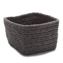 "Natural Shelf Storage Basket AT35 Dk Brown 11"" X 8"""