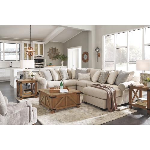 Carnaby 4 Piece Sectional With Chaise