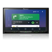 "Flagship In-Dash Multimedia Receiver with 6.94"" WVGA Clear Resistive Touchscreen Display"