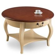 Round Coffee Table #10034-IV Product Image