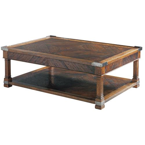 Maitland-Smith - MALCOLM RECTANGLE COCKTAIL TABLE