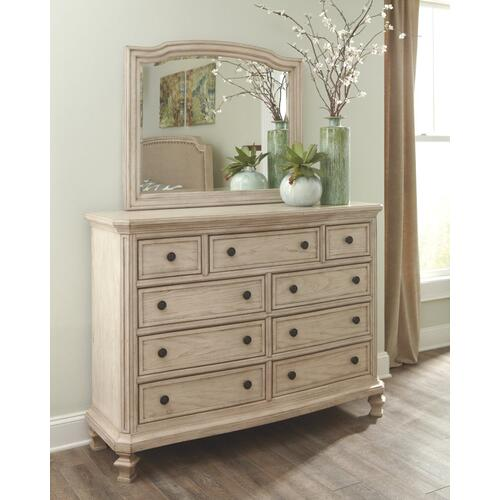 Demarlos Dresser and Mirror
