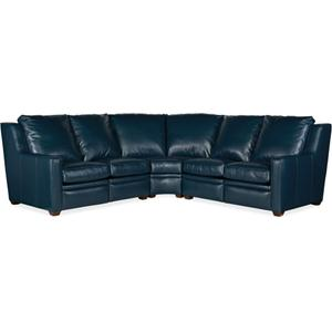 Bradington Young Raymond LAF Loveseat Recliner At Arm w/Articulating Headrest 201-55